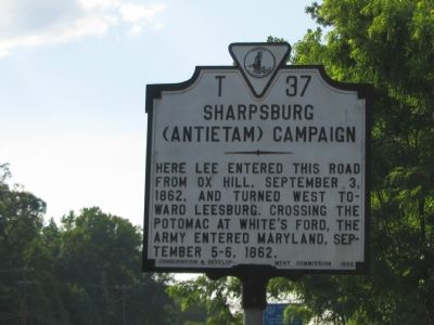 Sharpsburg (Antietam) Campaign Marker image. Click for full size.
