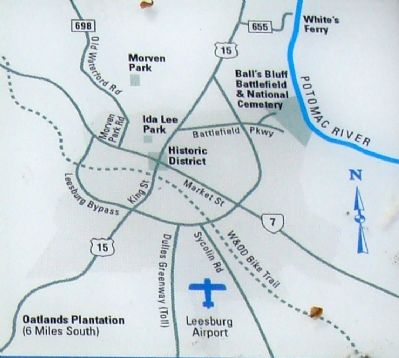 Map Shown on Marker image. Click for full size.