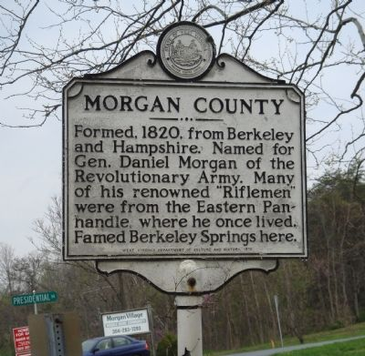 Morgan County Marker Face image. Click for full size.