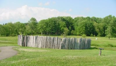 The Current Replica of Fort Necessity image. Click for full size.