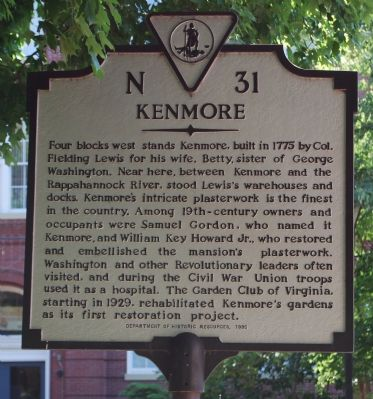 Kenmore Marker image. Click for full size.