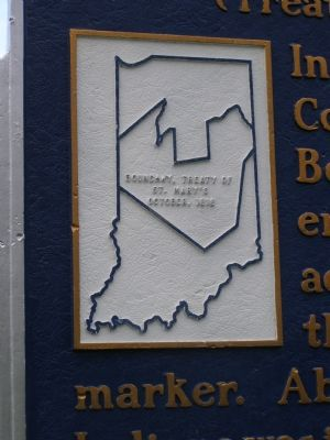 Closeup of Map on the Marker image. Click for full size.