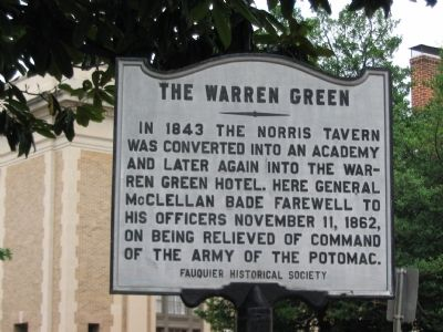 The Warren Green Marker image. Click for full size.