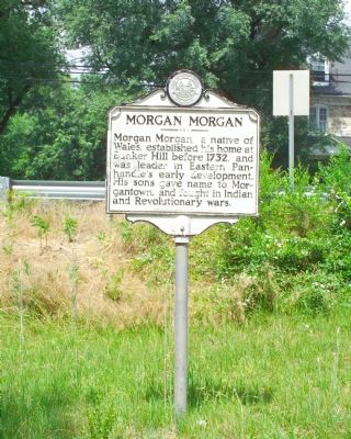 Morgan Morgan Marker image. Click for full size.