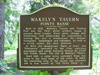 Wakely's Tavern Marker image. Click for full size.