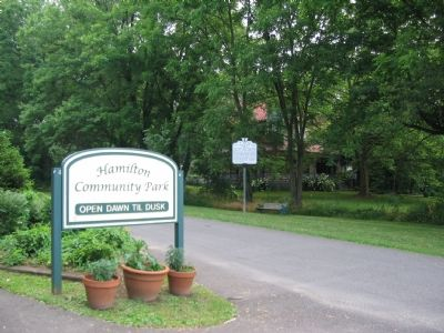 Entrance to Hamilton Community Park image. Click for full size.