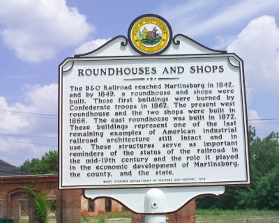 Roundhouses and Shops Face image. Click for full size.