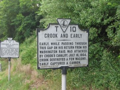 Crook and Early Marker image. Click for full size.