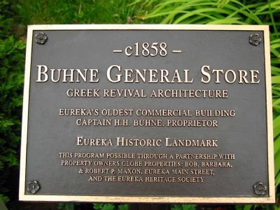 Buhne General Store Marker image. Click for full size.