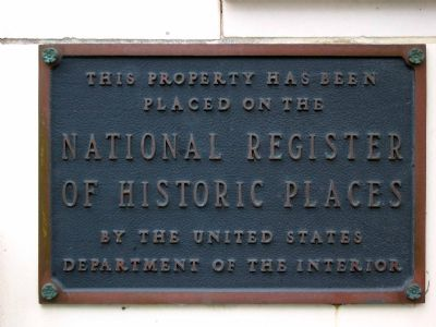 National Registery Marker image. Click for full size.