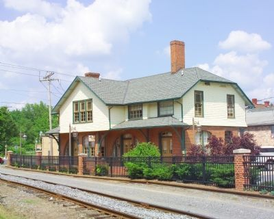 Former Cumberland Valley Railroad Depot image. Click for full size.