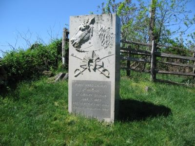 1st Massachusetts Monument image. Click for full size.