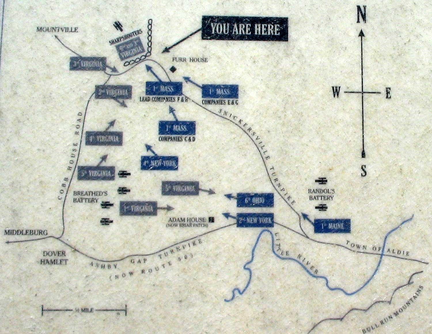Detail Map from the Marker