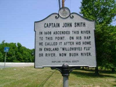 Captain John Smith Marker image. Click for full size.