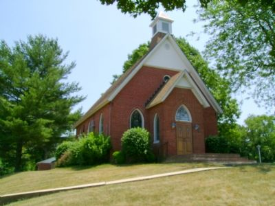 Cokesbury United Methodist Church and Cemetery image. Click for full size.