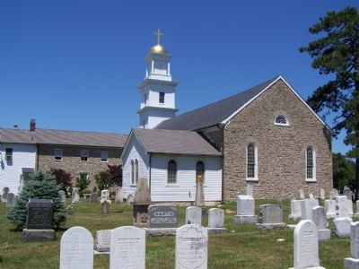 Church and Cemetery image. Click for full size.