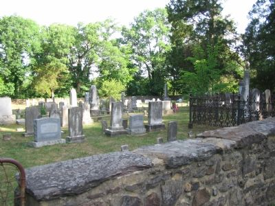 Mt. Zion Graveyard image. Click for full size.