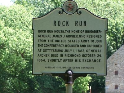 Rock Run Marker image. Click for full size.