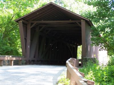 Jericho Covered Bridge image. Click for full size.