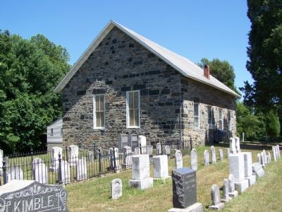 Calvary Church and Cemetery image. Click for full size.