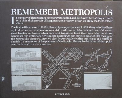 Remember Metropolis Marker image. Click for full size.