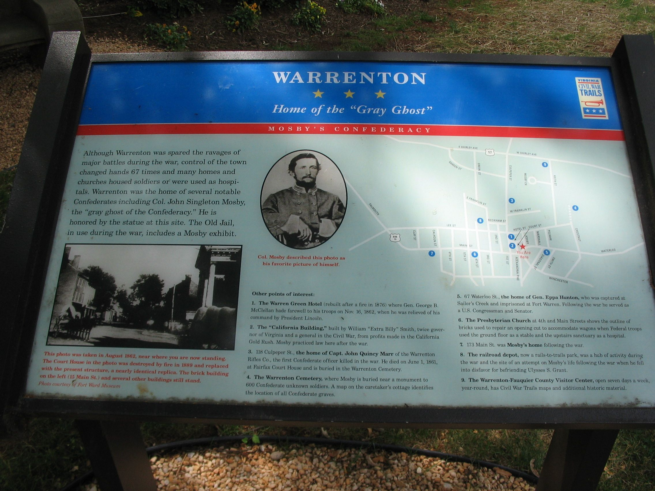 Warrenton Marker