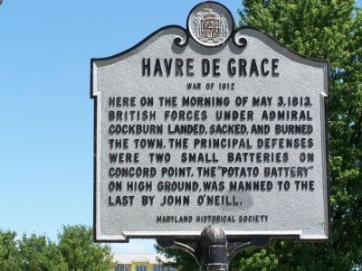 Havre de Grace Marker image. Click for full size.