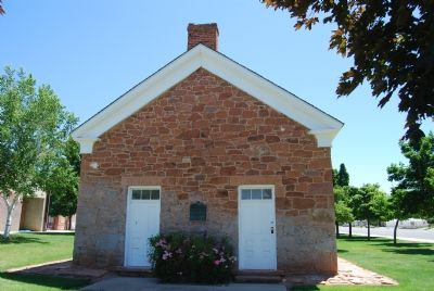 Front of Schoolhouse image. Click for full size.