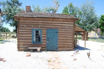 East side of restored cabin image. Click for full size.