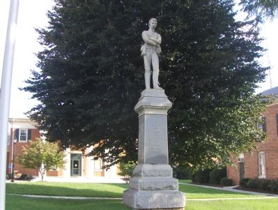 Clarke County Confederate Memorial image. Click for full size.
