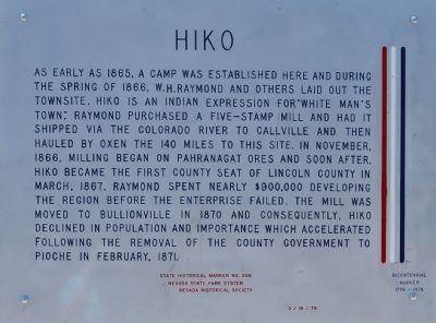 Hiko Marker image. Click for full size.