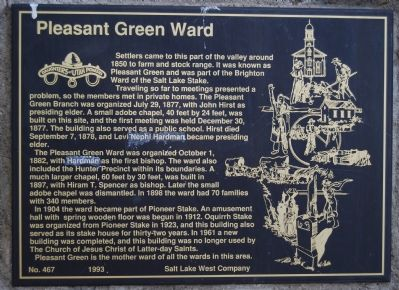Pleasant Green Ward Marker image. Click for full size.