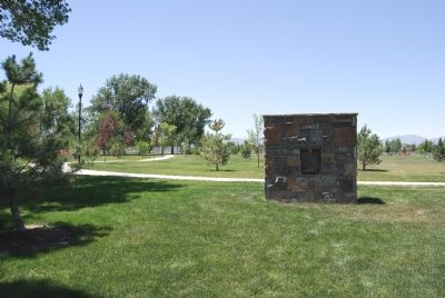 Marker located in park image. Click for full size.