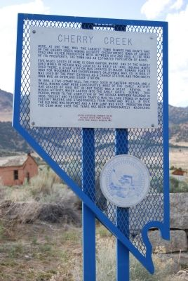 Cherry Creek Marker image. Click for full size.
