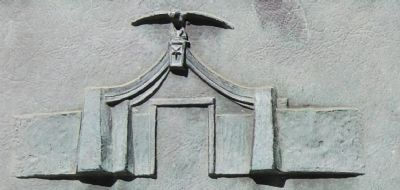 Detail of original gate and walls image. Click for full size.