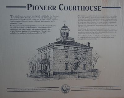 Pioneer Courthouse Marker image. Click for full size.