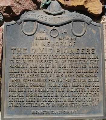 The Dixie Pioneers Marker image. Click for full size.