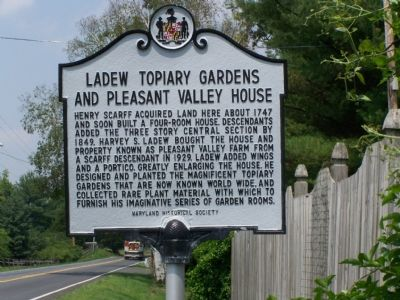 Ladew Topiary Gardens Marker image. Click for full size.