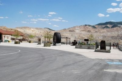 This and other markers at Bingham Canyon Visitors' Center image. Click for full size.