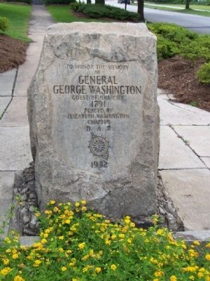 General George Washington Marker image. Click for full size.