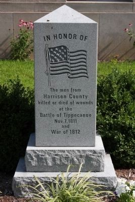In Honor Of The Men from Harrison County Marker image. Click for full size.