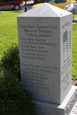 Left Side of Marker image. Click for full size.