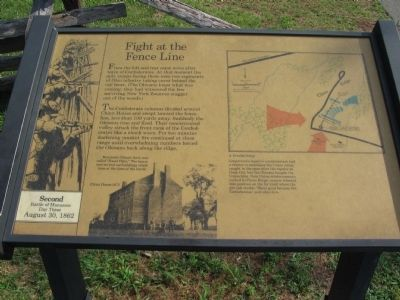 Fight at the Fenceline Marker image. Click for full size.