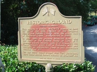 Historic Ground Marker image. Click for full size.
