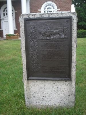 Knox Trail Marker NY-11 image. Click for full size.