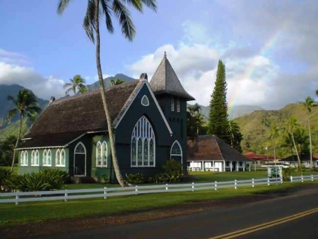 Waioli Church and Mission Hall image. Click for full size.