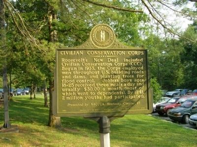 Civilian Cnoservation Corps Marker image. Click for full size.