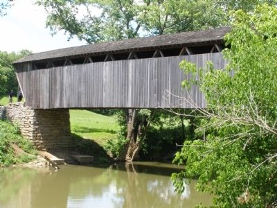 Switzer Covered Bridge image. Click for full size.