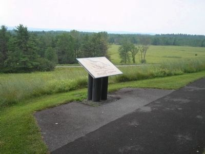 Marker at Saratoga National Historical Park image. Click for full size.