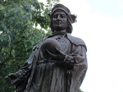 Christopher Columbus image. Click for full size.